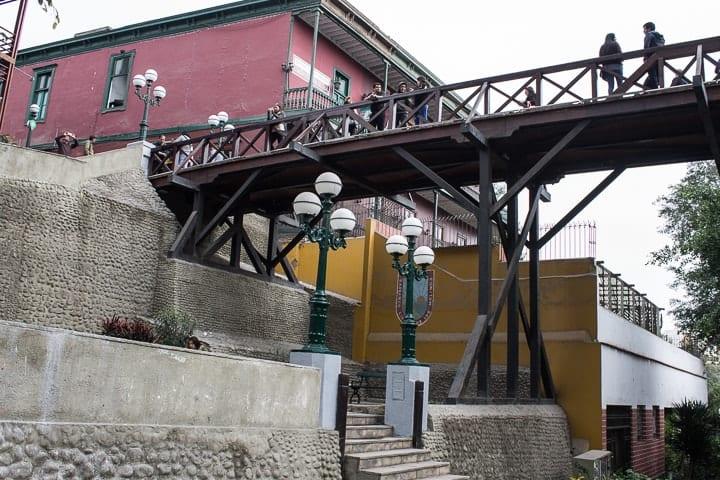 Puente de los suspiros - Barranco, em Lima