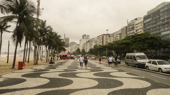Calçadão de Copacabana, O Rio de Janeiro de Dorival Caymmi