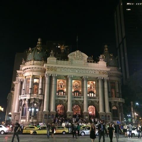 Cinelândia noturna, O Rio de Janeiro de Dorival Caymmi