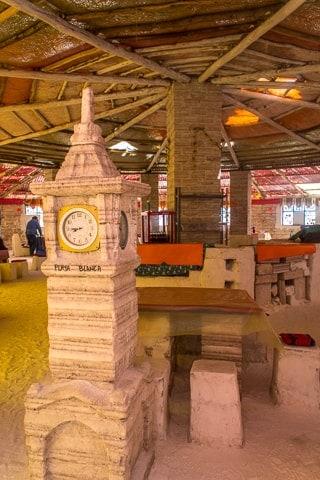 Primeiro dia no Salar de Uyuni - Antigo Hotel de Sal