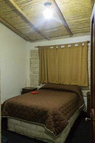 Primeiro dia no Salar de Uyuni - Hotel de Sal primeira noite