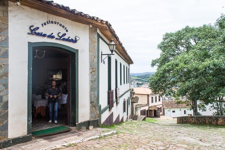 O que fazer em Congonhas, Minas Gerais - Onde comer em Congonhas - Restaurante Casa da Ladeira