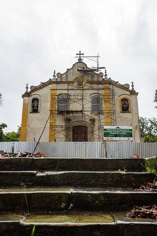 Santuário da Santíssima Trindade, o que fazer em Tiradentes - MG