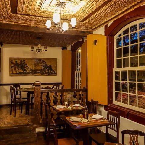 Atrás da Matriz - onde comer em Tiradentes, Minas Gerais