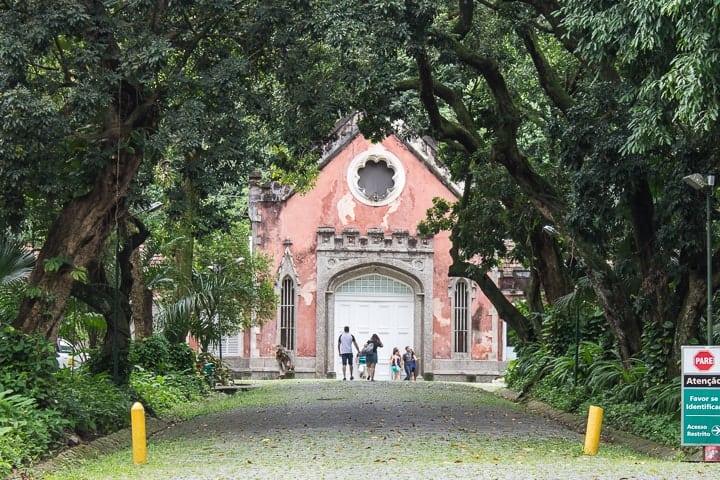 Cavalariça, Parque Lage, Rio de Janeiro