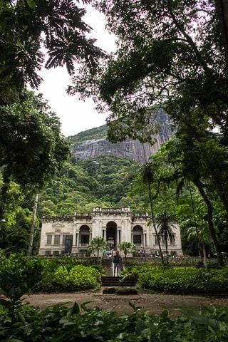 Palacete, Parque Lage, Rio de Janeiro