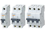 Miniature circuit breakers: BC series