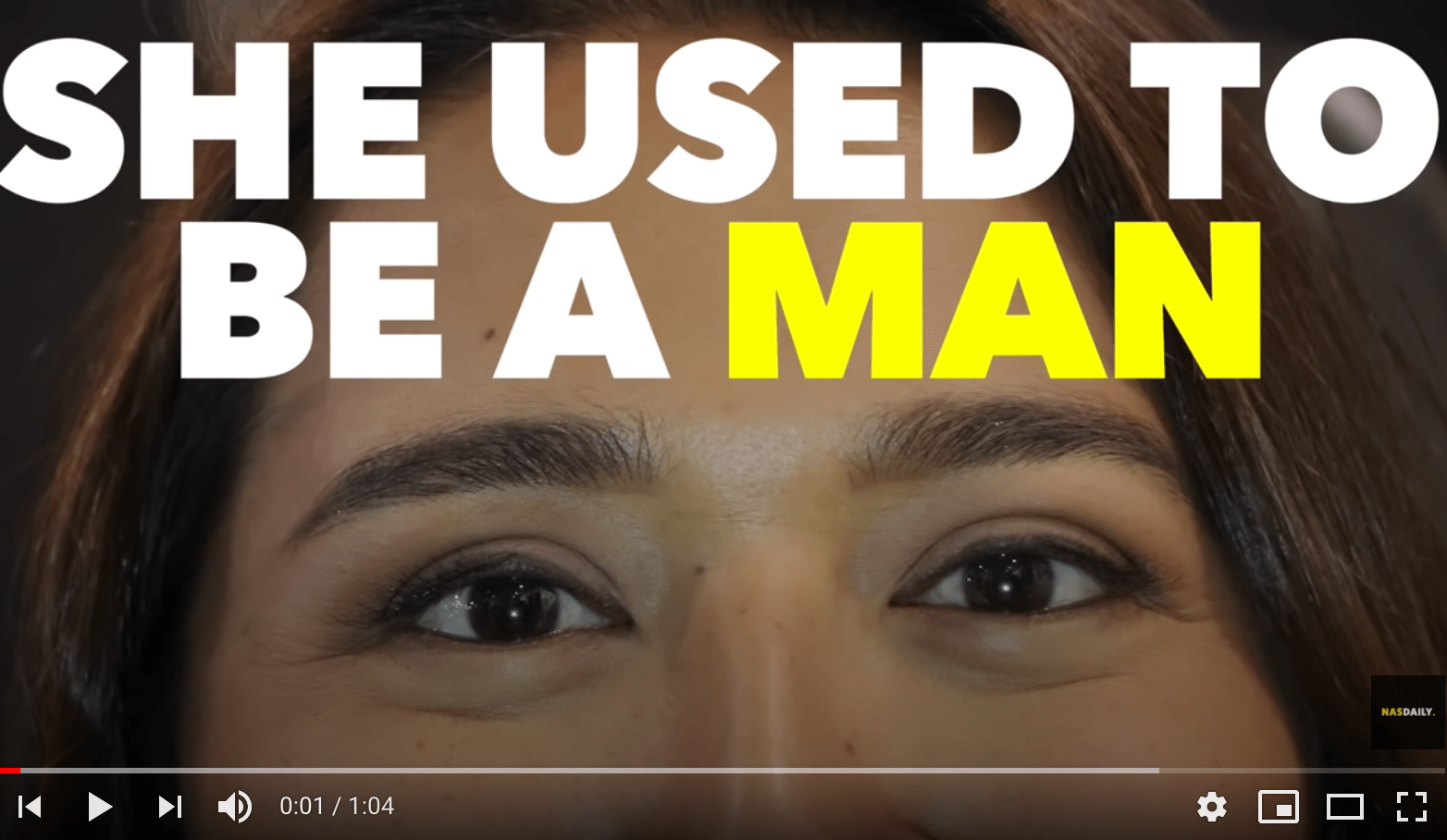 Nas Daily / She Used To Be A Man 以前、男だった