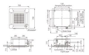 Split Systems (Air Conditioner) : AUHG18LVLB FUJITSU