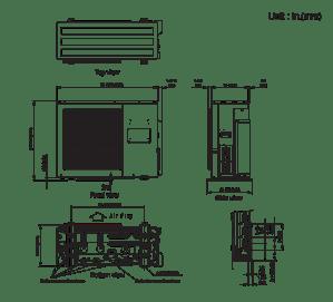 AOU24RLXFZ :Multi Zone (2 to 5 Zones)  Halcyon™ MULTIROOM MINISPLIT SYSTEMS  RESIDENTIAL