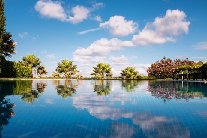 """Pool Reflection"""