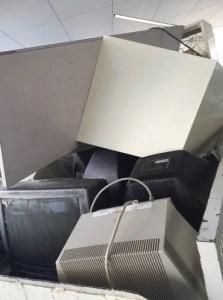 ブラウン管テレビ処分、回収は片付け隊