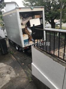 福岡で施設入る前、後家の片付け、不用品回収は福岡片付け隊
