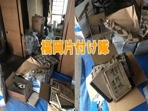 事務所の倉庫を片付け出たゴミ、不用品を回収しました