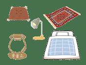 骨董、小型家具・日用品・インテリアなど