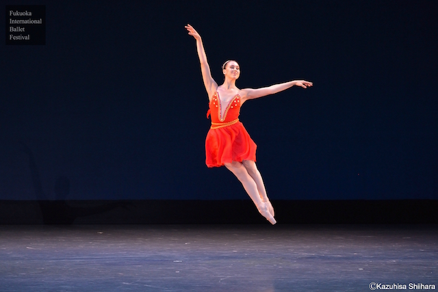 The young and extremely talented Sonia Vinograd performs in 'Diana and Acteon'.