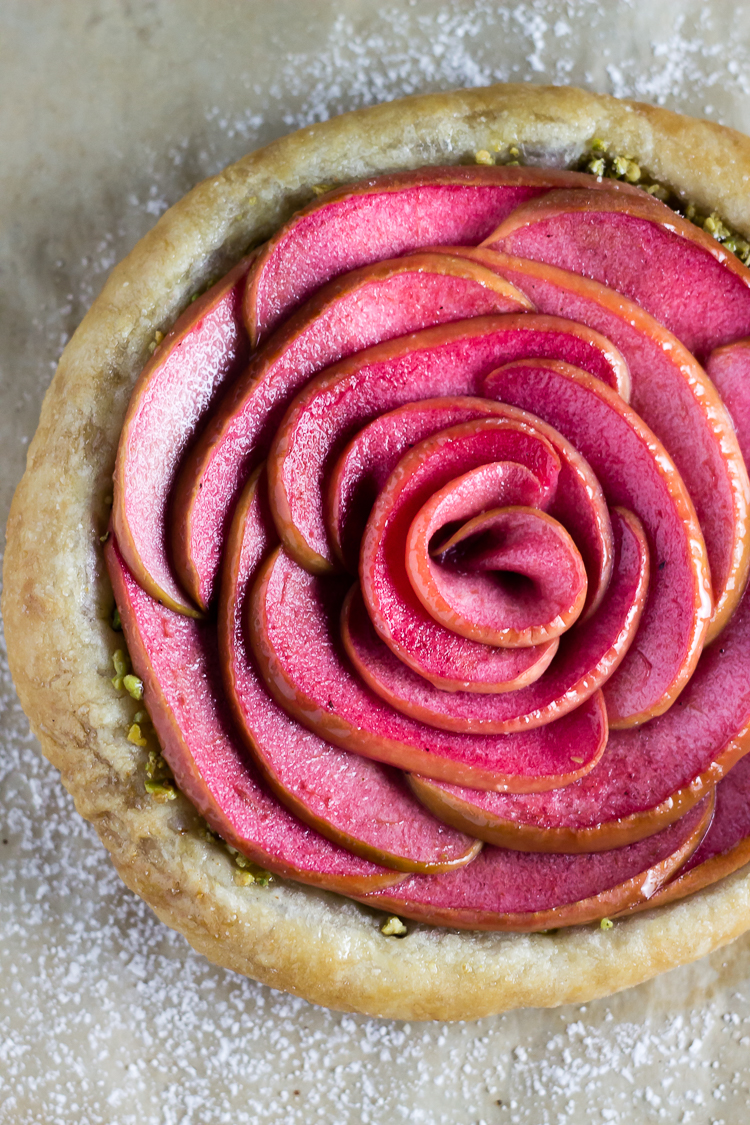 HIDDEN ROSE APPLE TARTS