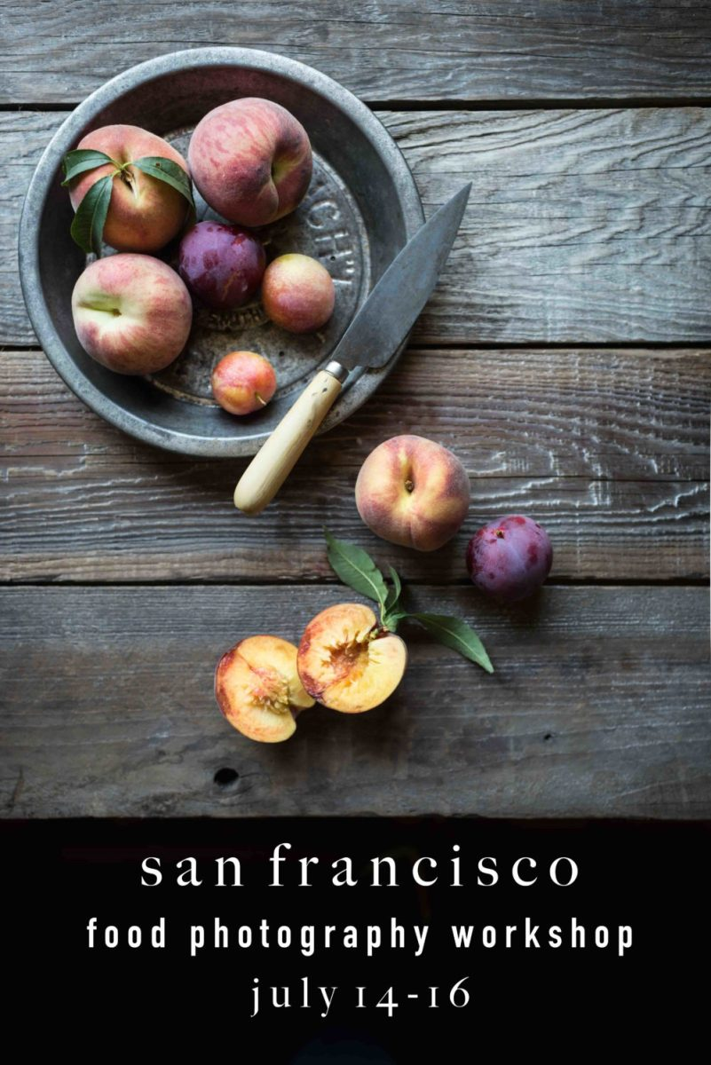 SAN FRANCISCO food styling & photography workshop