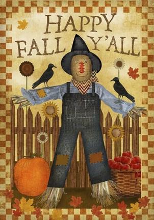 Happy Fall Yall III Fine Art Print By Beth Albert At