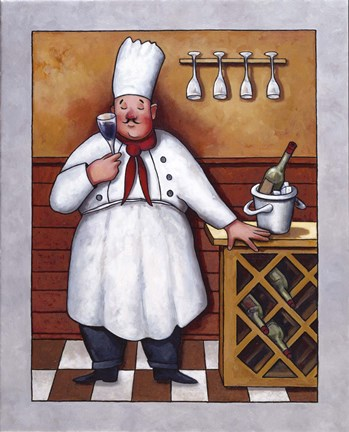 Chef II Fine Art Print By John Zaccheo At