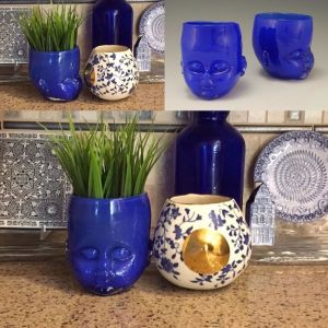 Read more about the article Mother and Child. Great submission from another satisfied customer. I want you to come decorate my house! #babyheadcup #motherandchild #blue #interiordesign