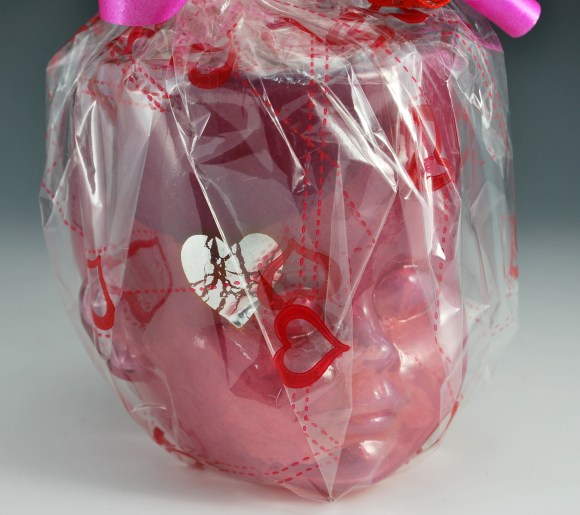 Heart Breaker Baby Head Cup Gift Wrapped