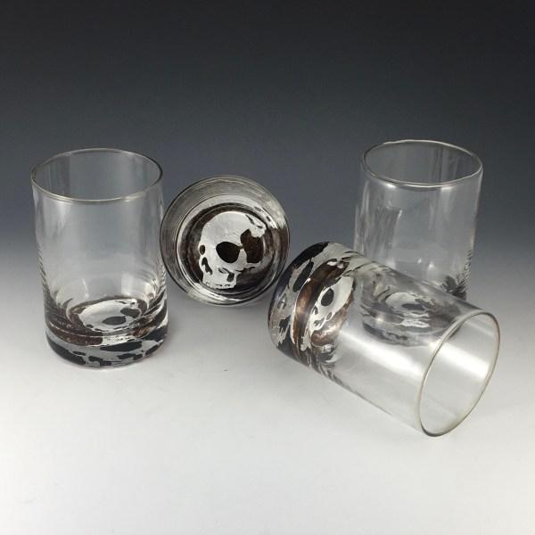 Set of four Skull Tumblers