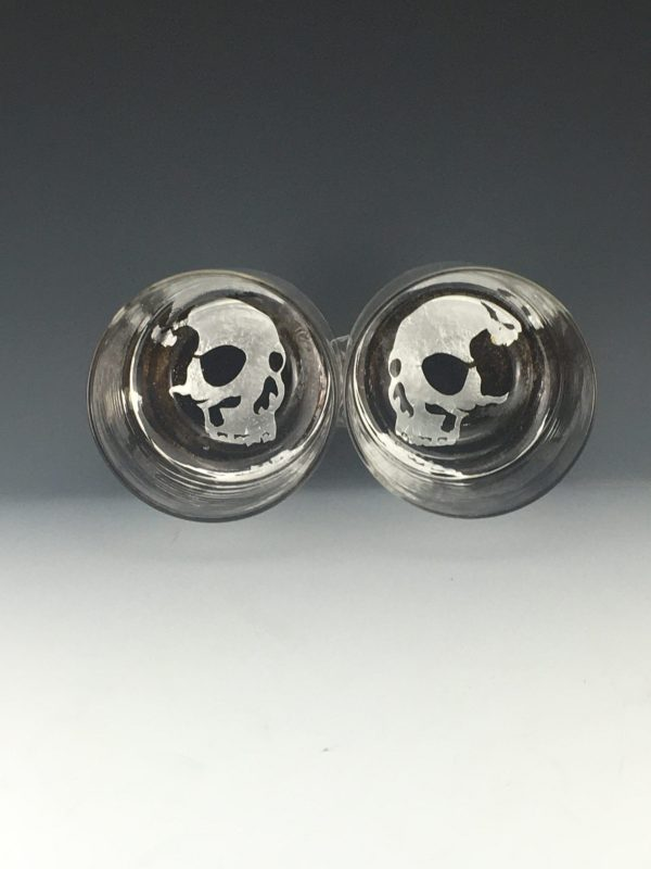 Two Skull Tumblers