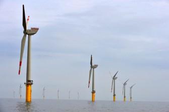 Der erste Bauabschnitt umfasst 40 Windkraftanlagen.