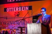 Dr. Christian Müller bei seiner Ansprache.
