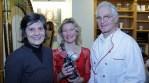 Steffi Frühauf-Dehler, Ulla van Daelen,  Prof. Dr. Josef Dehler (v.l.)