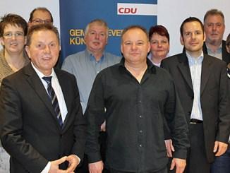Der neue Vorstand v.l.: Markus Dostal, Johannes Groß, Christof Erb, Stefan Lauer, Rainer Kremer