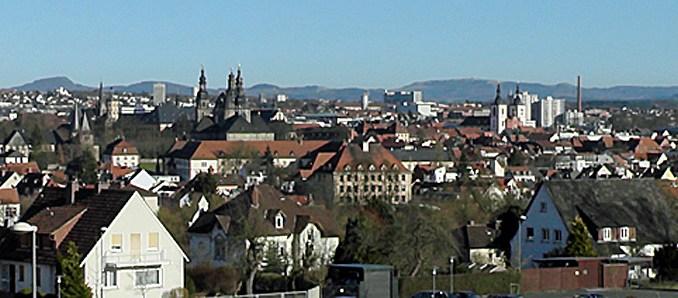 Blick auf Fulda