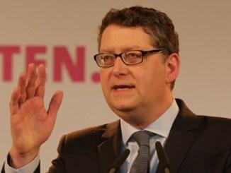 SPD-Landesvorsitzender Thorsten Schäfer-Gümbe