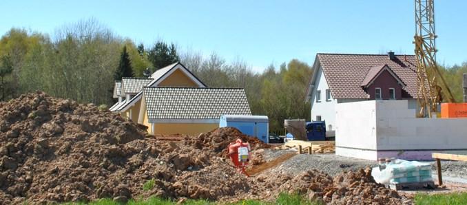 Bauen, Baugebiet