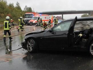 Unfälle auf der A66