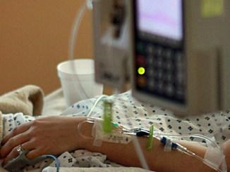 Krankenhaus-Patient