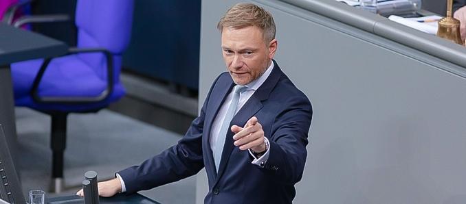 Lindner warnt Bundesbank vor geldpolitischem Kurswechsel