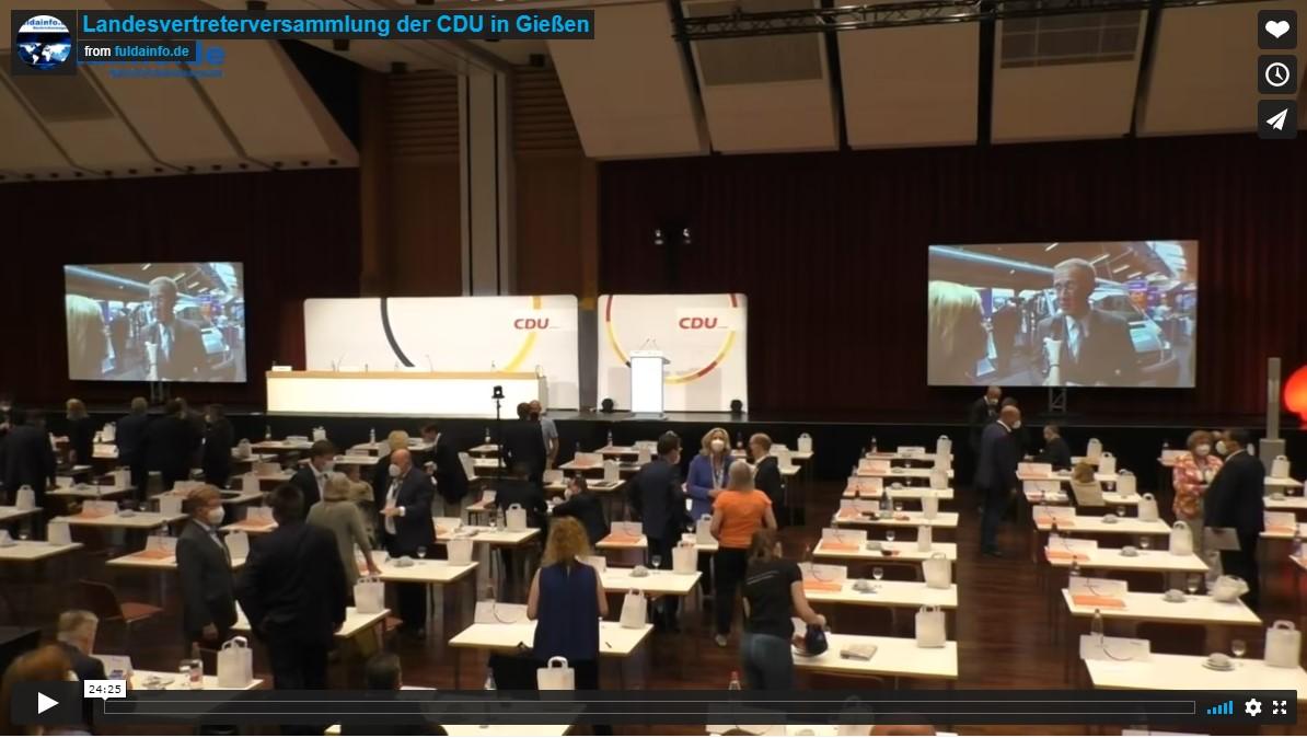 Landesvertreterversammlung der CDU in Gießen
