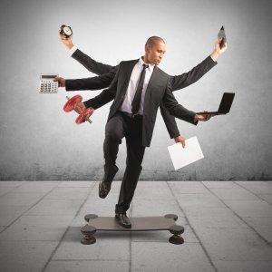 hard money lender flexibility man juggling objects on a skateboard