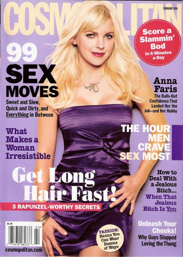 Work featured on Cosmopolitan magazine cover