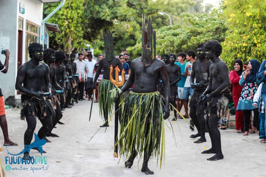 traditional maldives parade