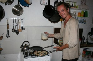 Martijn, the pancake maker