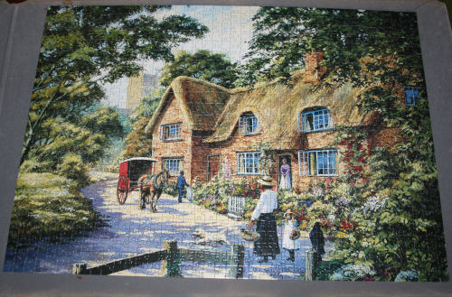 Holiday jigsaw