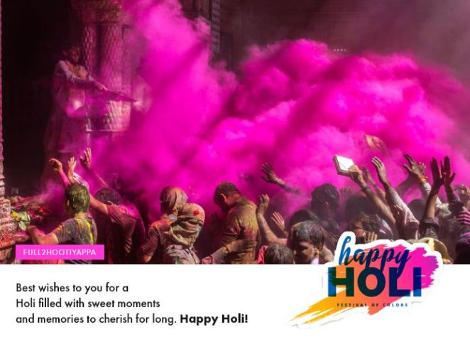 Happy Holi DP for WhatsApp and Facebook