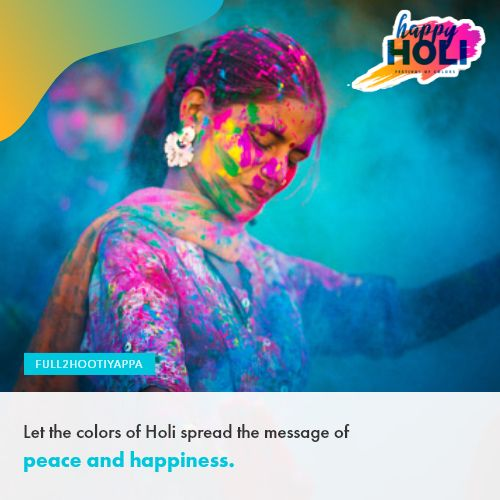 Holi 2020 Wishes and Statuses