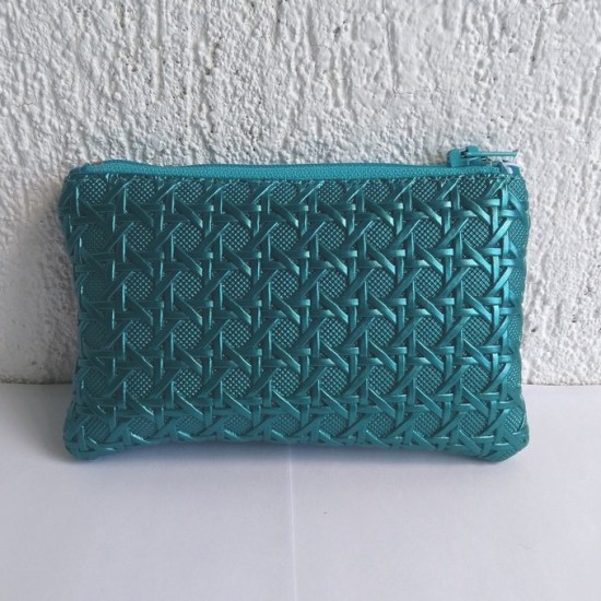 porte monnaie turquoise