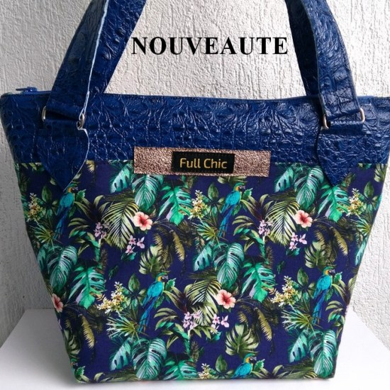 sac bleu tropical