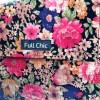 sac besace liege fleurs multicolore zoom