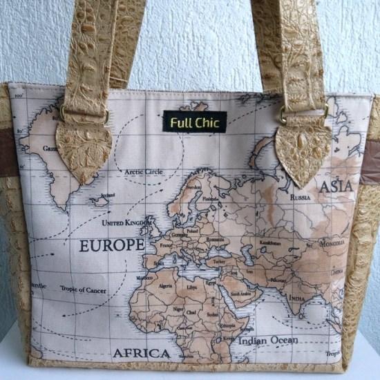 sac exploreur map monde